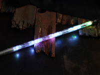 "8 Light LED Staff - 70"" with UltraLights"