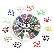 3mm Brilliant Resin Rhinestones Wheel