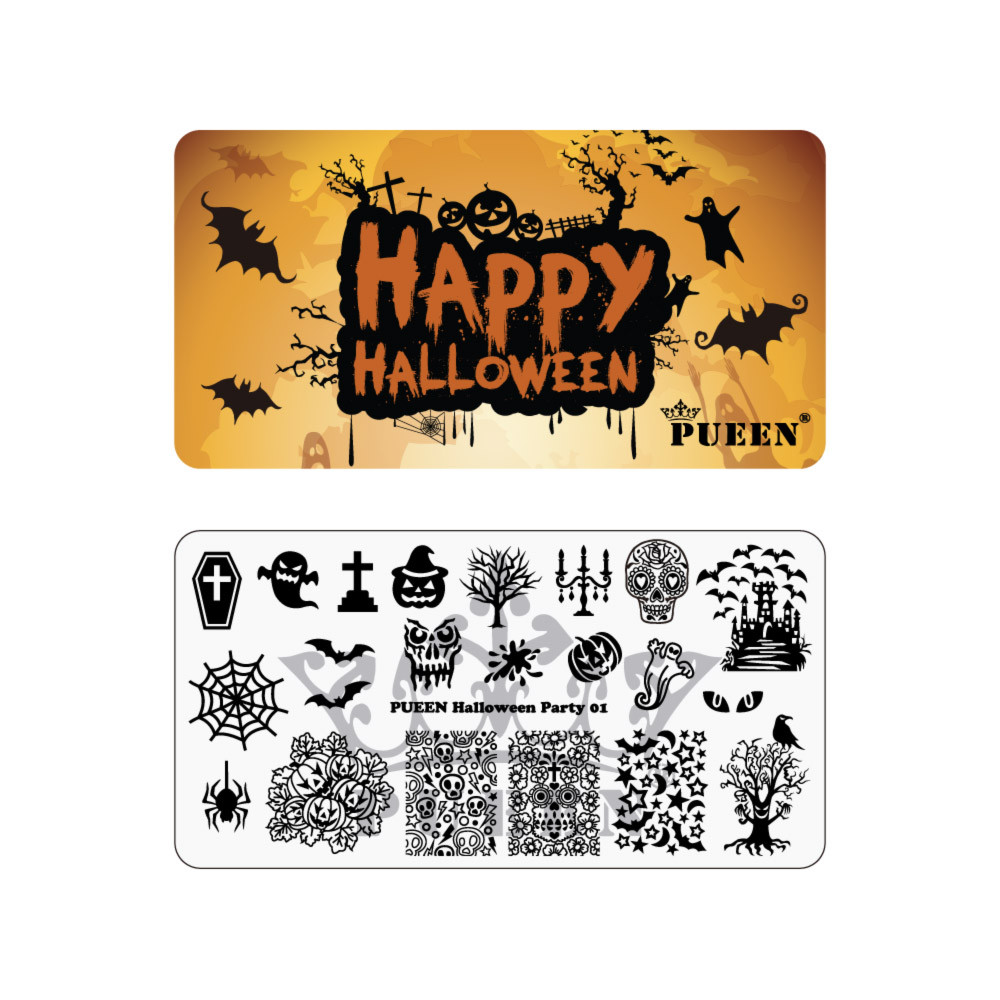 Pueen stamping theme park collection halloween party 01 prinsesfo Choice Image