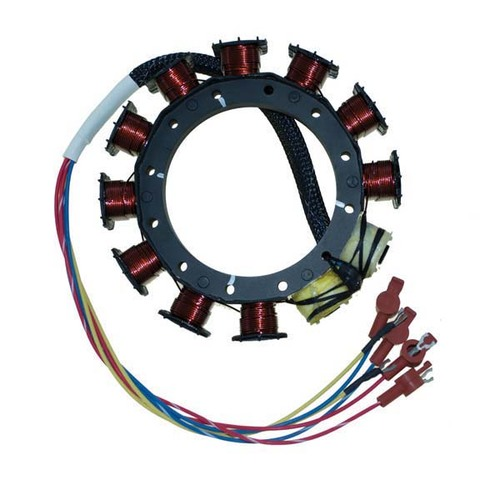 Mercury / Mariner 2/3/4 Cylinder Outboard 9 Amp Stator by CDI