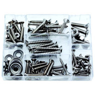 Attwood 100 Piece S.S. Fastener Assortment Kit