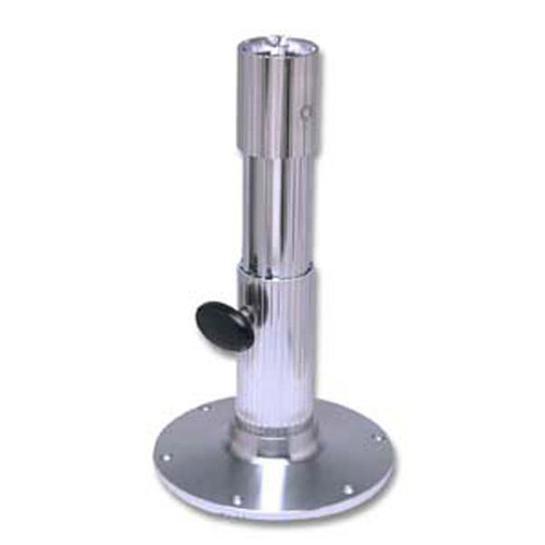 Garelick 12 - 17in Adjustable Height Friction Lock Ribbed Seat Pedestal 75535