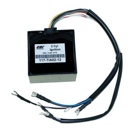 Mariner/Yamaha/Hitachi 2 Cyl. Ignition Module