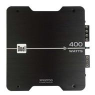 Dual 400W 2/1 Channel Amplifier (Black)