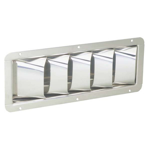 Attwood Louvered Marine Vent Stainless Steel