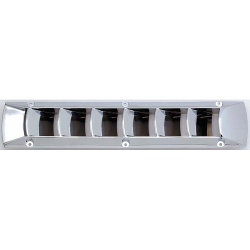 Attwood Louvered Marine Vent Chrome Plated Plastic