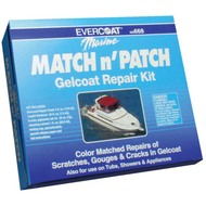 Gelcoat Match & Patch Repair Kit