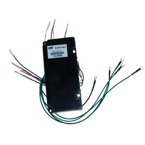 Mercury / Mariner 4 Cylinder Outboard Switch Box by CDI