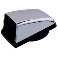 "Perko Chrome 3"" Cowl Vent with Black Plastic Base"