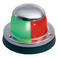 Perko Chrome Horizontal Mount Bi-Color Bow Light
