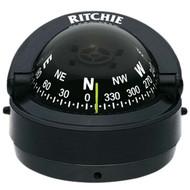 Ritchie S-53 Explorer Marine Compass, Surface Mount - Black