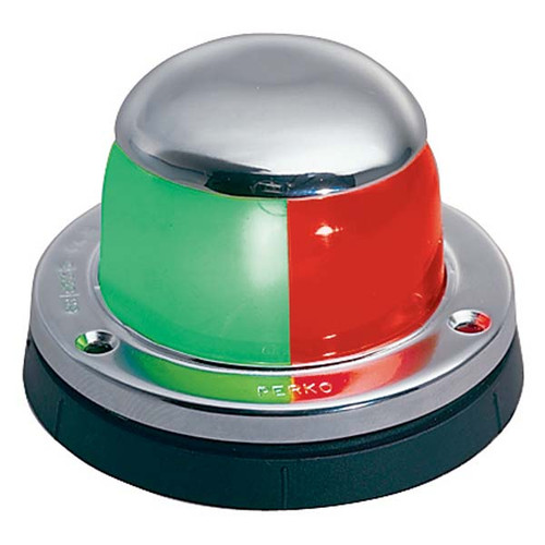 Perko Stainless Steel Bi-Color Navigation Light