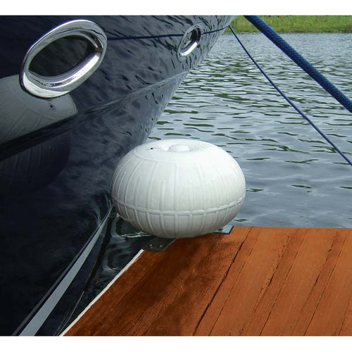 Taylor Made 9'' Dock Wheel Bumper with Corner Bracket