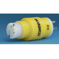 Marinco Shore Power Straight Adapter 15 or 20 Amp Female to 30 Amp Male 125V