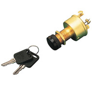 Sea Dog Marine Ignition Switch 3 Position - 3 Terminal