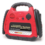 Road Pro Rechargeable Jumpstart Emergency System with 12 Volt Power Port