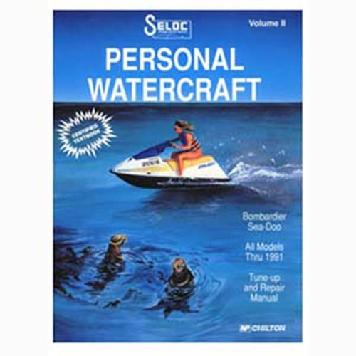 Seloc Service Manuals, Sea Doo - Bombardier 1988-1991