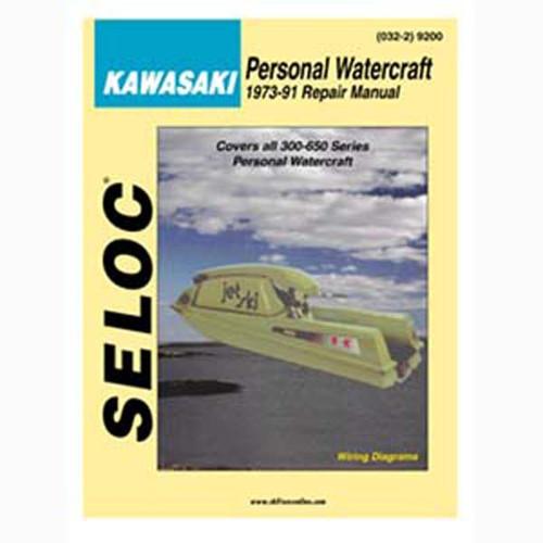 Seloc Service Manual, Kawasaki PWC 1973-1991