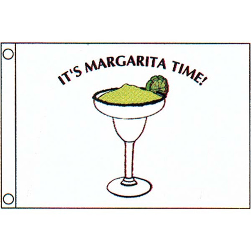 Taylor Made Margarita Time Flag