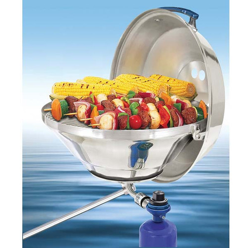 """Magma Marine Kettle Gas Grill 17"""" Party Size"""