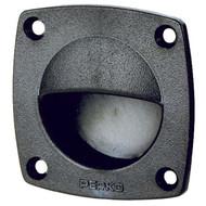 Perko Flush Drawer - Door Pull, Black Plastic