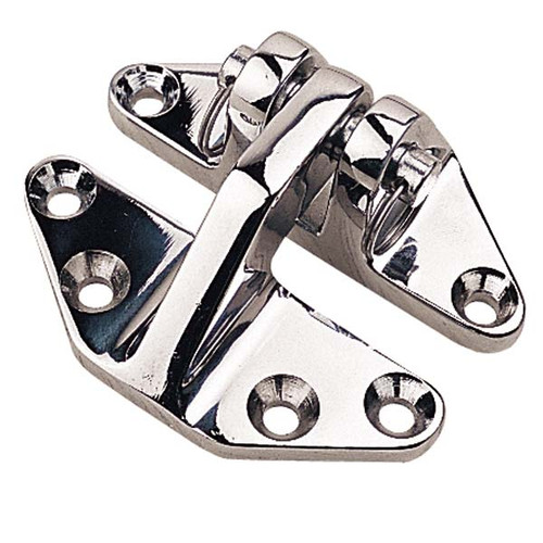 Sea Dog Chrome Brass Hatch Hinge