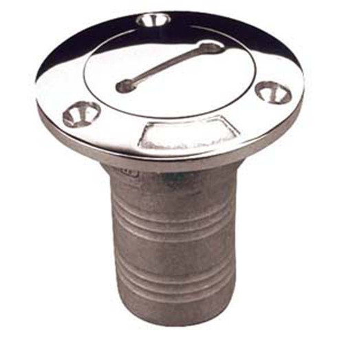 """Sea Dog Water 1-1/2"""" Deck Fill- Stainless Steel"""