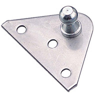 Sea-Dog Flush Mount for Gas Lift Spring, Stainless Steel