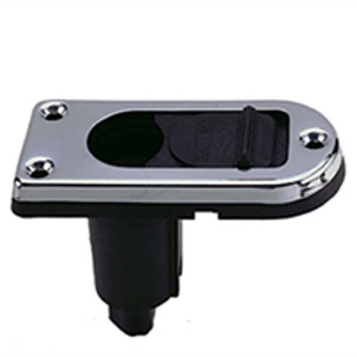 Perko 2 Pin Plug In Stern Light Base with 0 Degree Rake