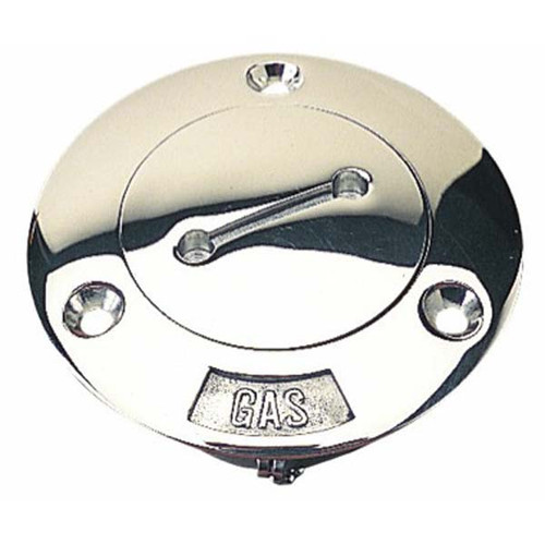 Sea Dog Stainless Steel Replacement Gas Cap, 1.5 Inch - 12 NPSM Thread