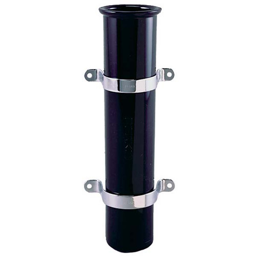 Perko Side Mount Fishing Rod Holder, Black Plastic