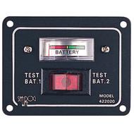 Sea Dog Battery Test Switch Panel