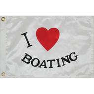 Taylor Made I Love Boating Flag