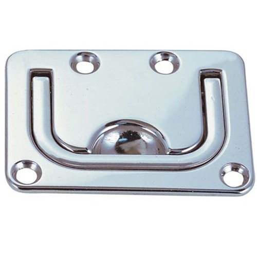 Perko Flush Hatch Lift Handle, Chrome Zinc Alloy