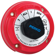 Perko 250 Amp Battery Selector Switch with Alternator Field Disconnect