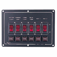 Sea Dog Aluminum Horizontal Switch Panel