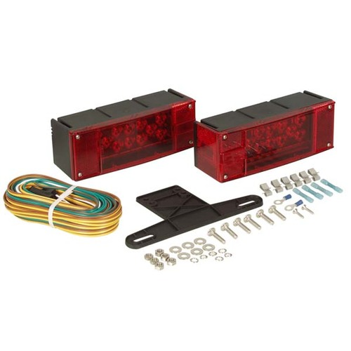 "Optronics Low Profile LED Waterproof Over 80"" Trailer Light Kit"