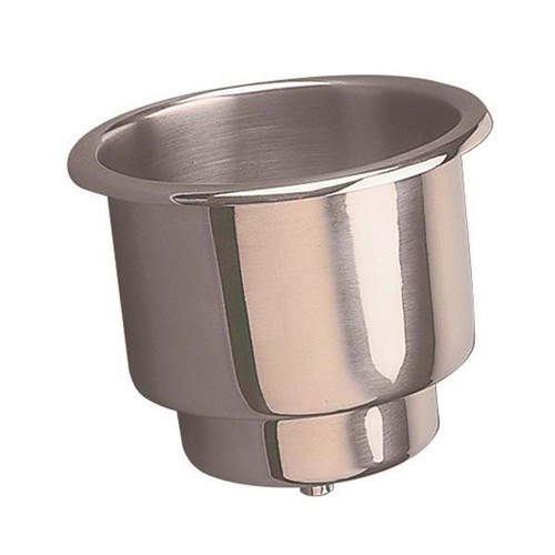 Sea Dog Flush Mount Combo Drink Holder With Drain
