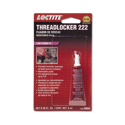 Sierra 38653 222 Threadlocker Low Strength/Purple