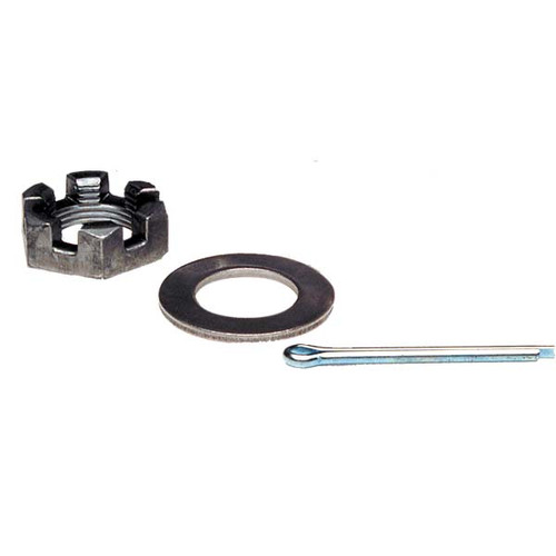 Trailer Axle Nut, Washer and Cotter Pin