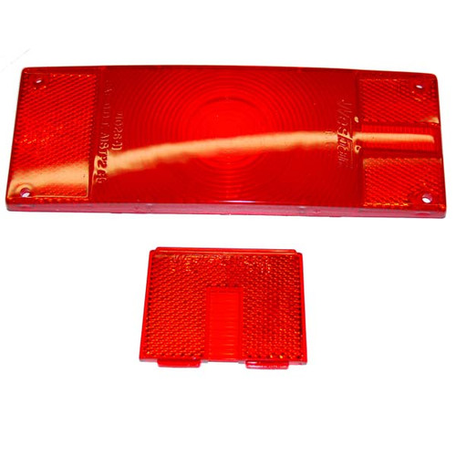 Replacement Lens Set For Low Profile Tail Lamps