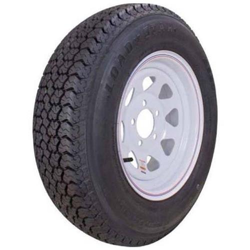 "Loadstar 175/80D13 5 Lug 13"" Bias Trailer Tire - White Load B"