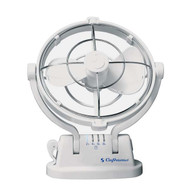 "Sirocco Marine 7"" Fan 3 Speed-White"