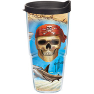 Tervis Guy Harvey Pirate Wrap Tumbler with Black Lid 24oz