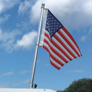 """Taylor Made 30"""" Stainless Steel Flag Pole"""