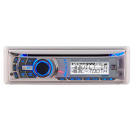 Dual AM/FM/CD Receiver with Direct USB Control for iPod/iPhone, Built-In Bluetooth