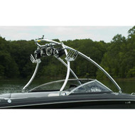 """Monster Tower MT2 2.5"""" Polished Wakeboard Tower"""