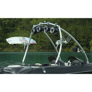 """Monster Tower MTE 2.25"""" Polished Wakeboard Tower"""