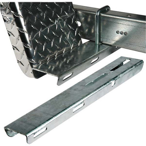 "Galvanized Fender Step Pad - 3"" x 15 1/4"""