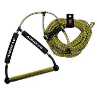 """Airhead Wakeboard Rope with 15"""" Phat Grip Handle"""